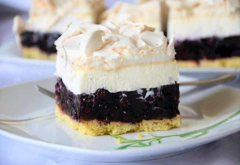 Ciasto Jagodowa Chmurka Ku Podniebieniu